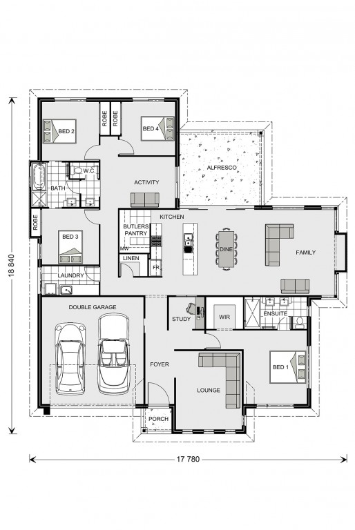 Fernbank 262 - Element Series Floorplan