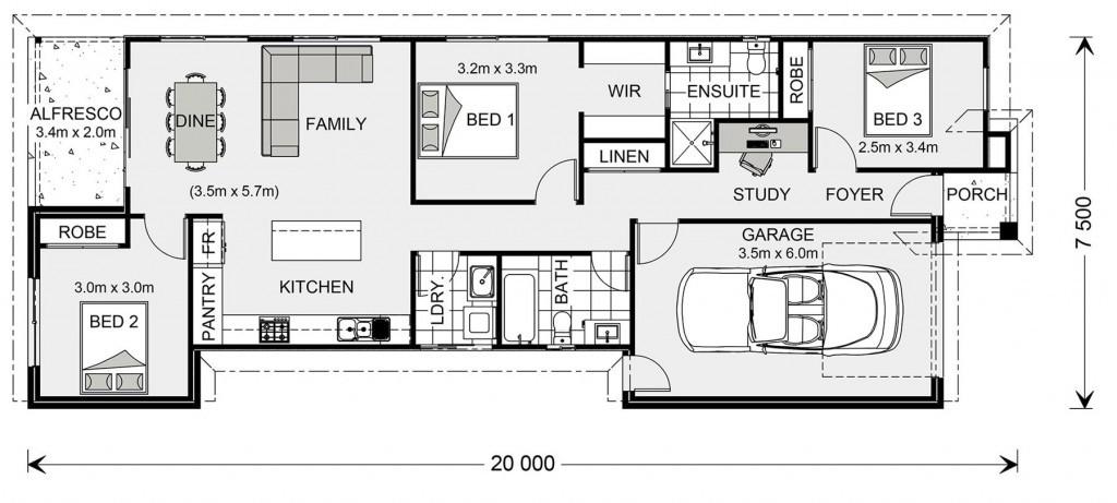 Seabrook 134 - Element Series Floorplan