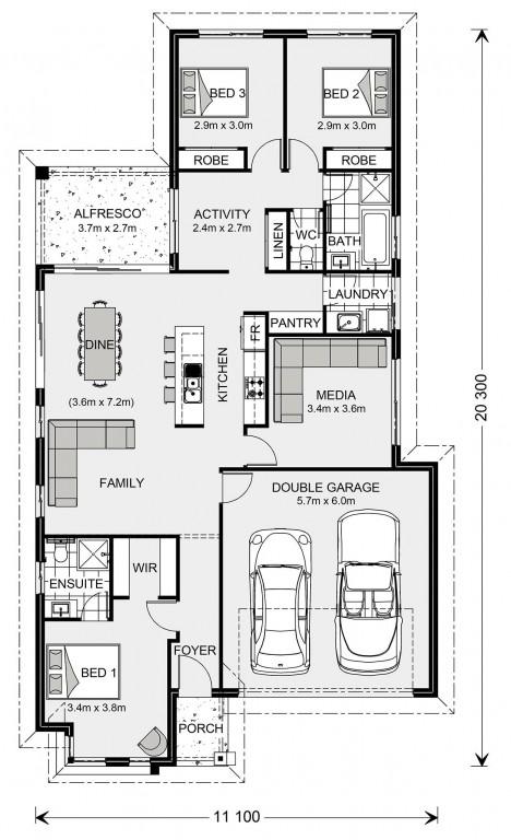 Benowa 187 Floorplan