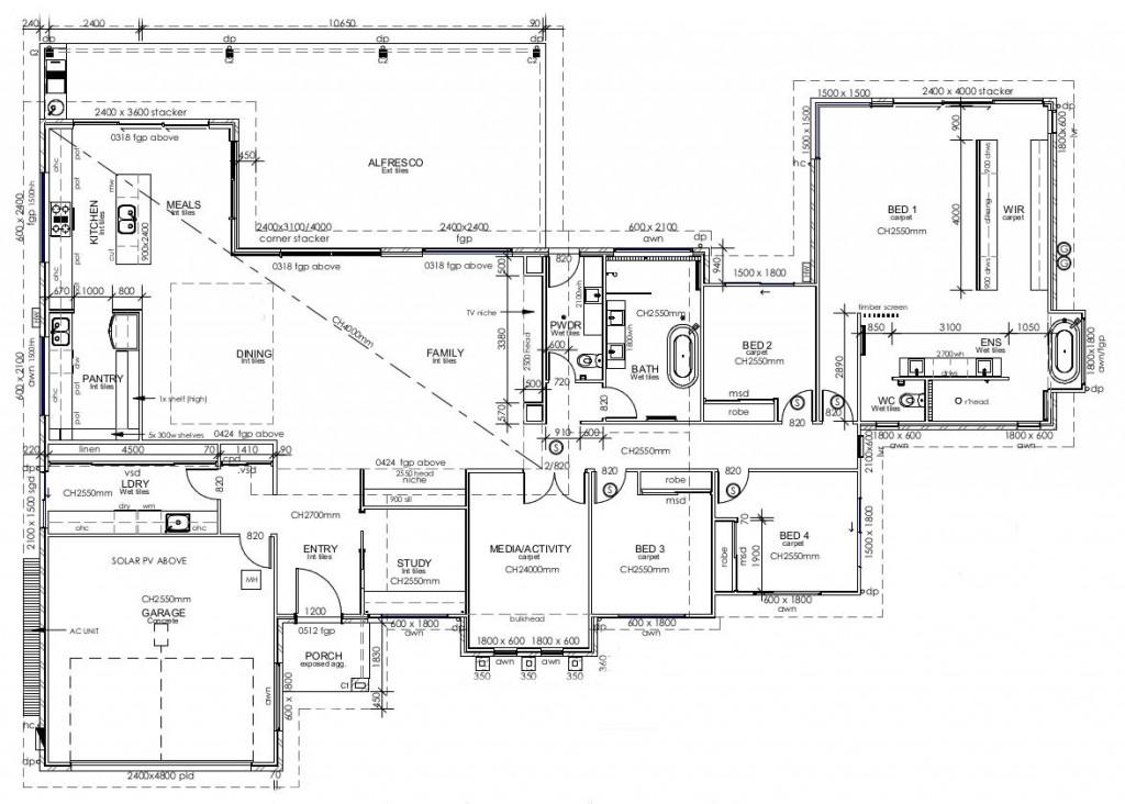 Kingaroy 304 Floorplan