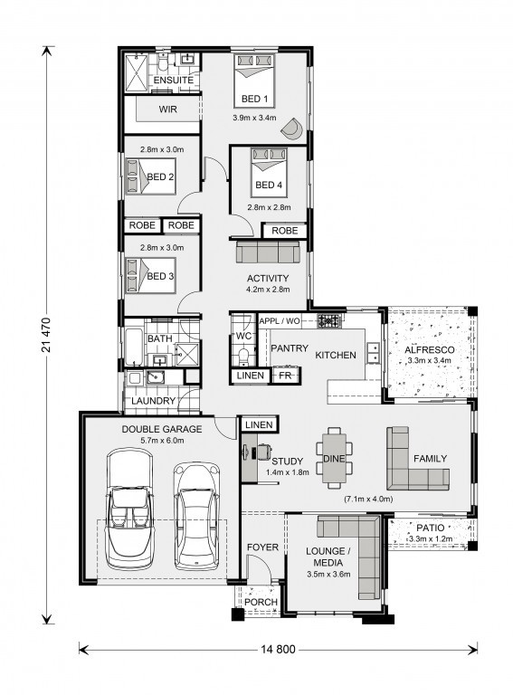 Parkview 221 Floorplan