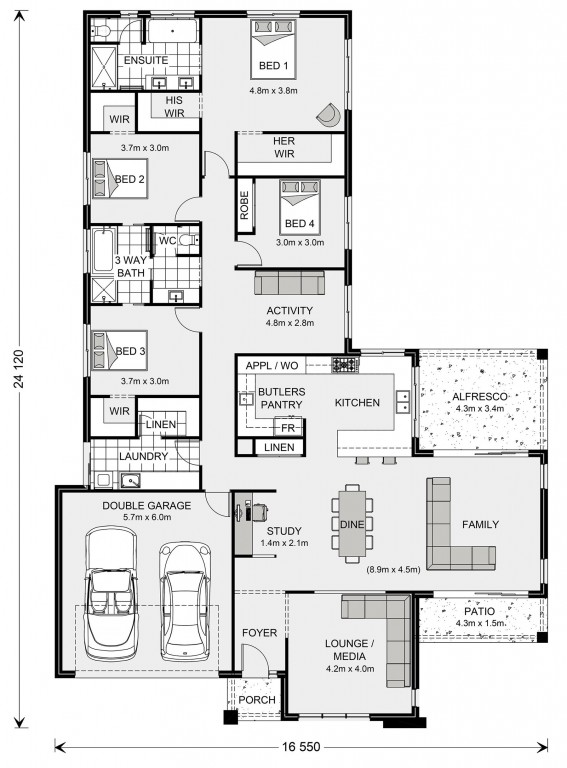 Parkview 286 Floorplan