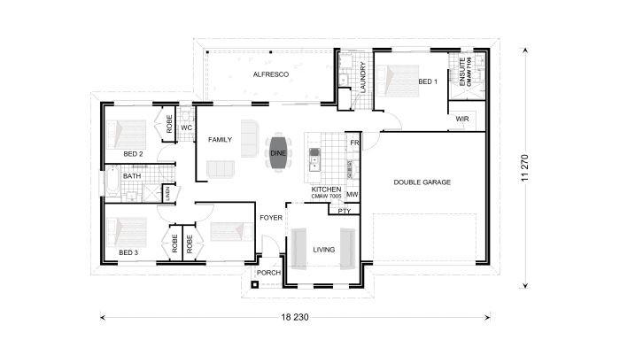 Bridgewater 173 - Estate Series Floorplan