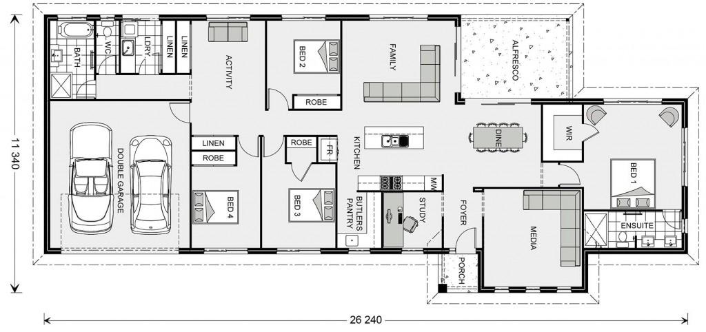 Edgewater Estate 250 Floorplan