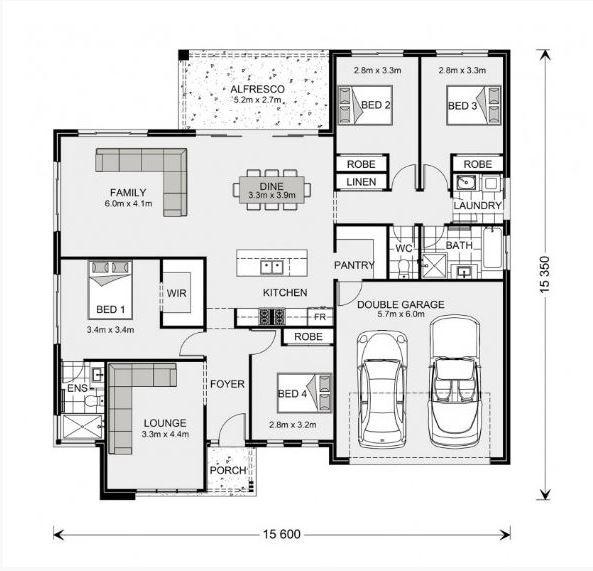 Wide Bay 212 Floorplan