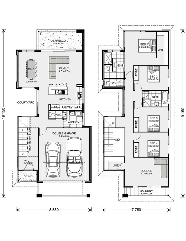 Nelson Bay 249 - Metro Series Floorplan