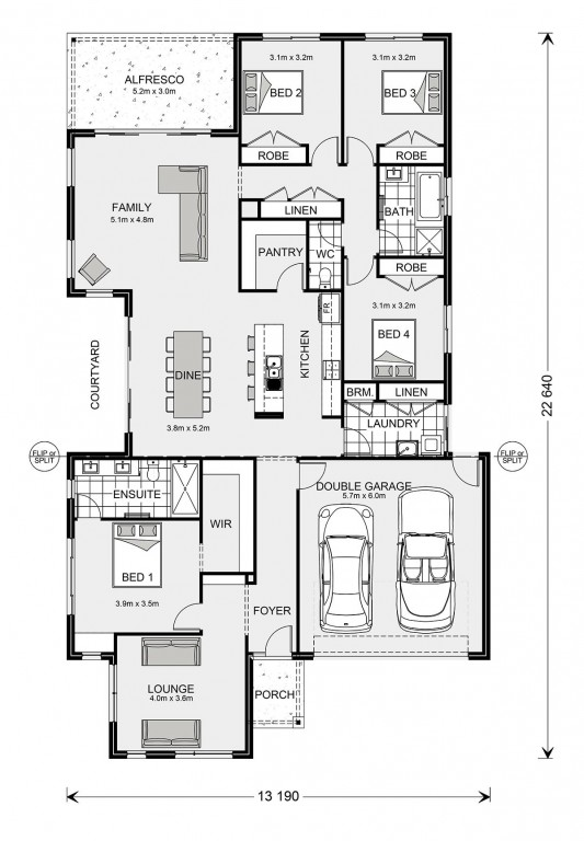 Blackwood 250 Floorplan