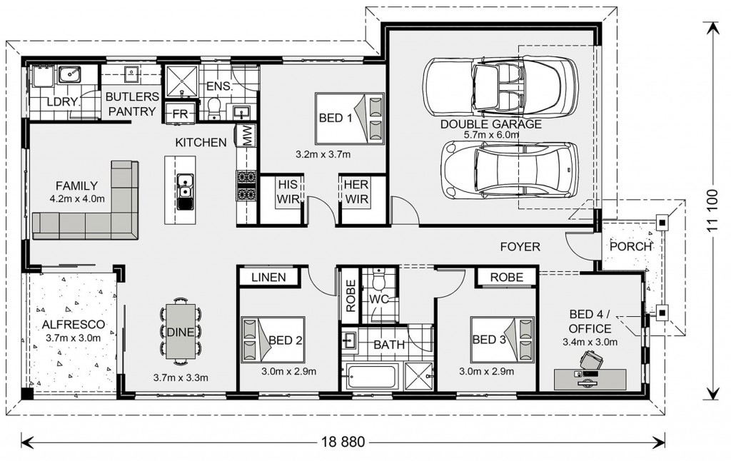 Casuarina 187 - Element Series Floorplan