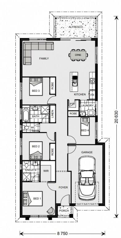 Bingara 160 Floorplan