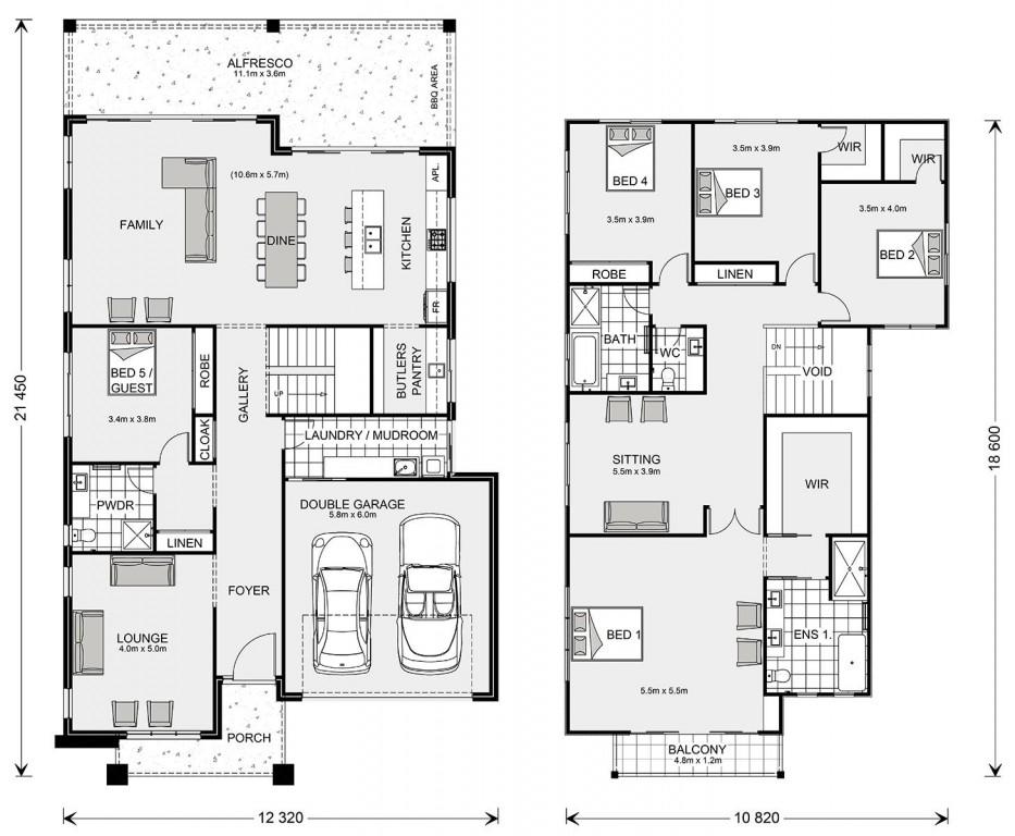 Freshwater 400 - Element Series Floorplan