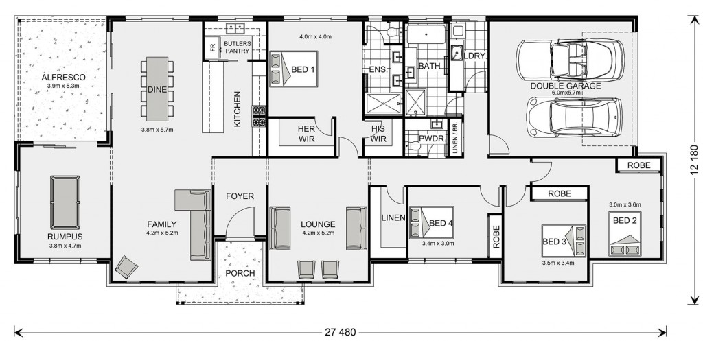 Tamworth Floorplan