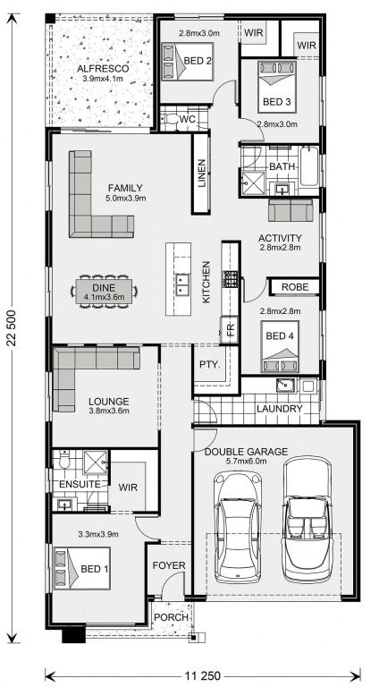 Bridgewater 225 - Element Series Floorplan