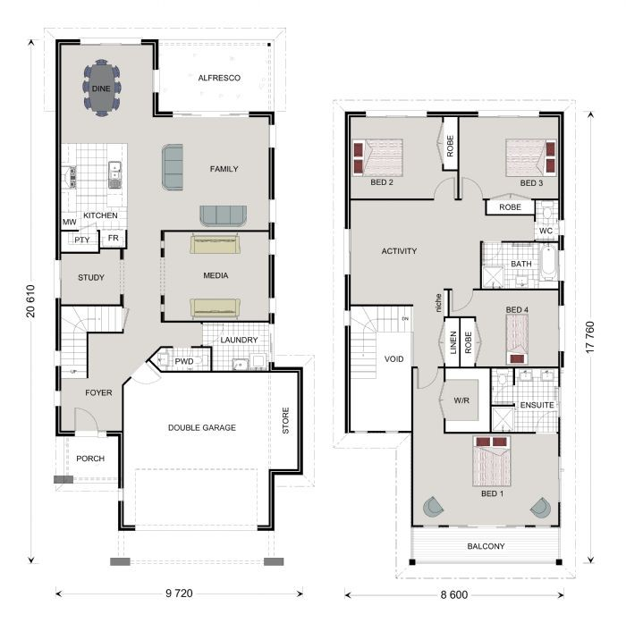 Paddington 314 - Award Series Floorplan