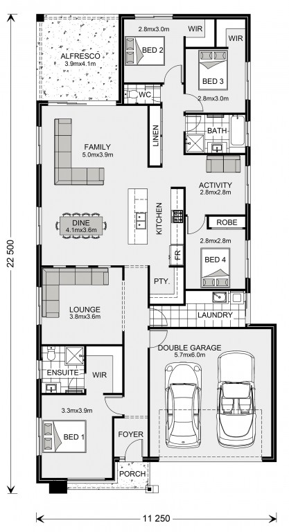 Bridgewater 225 Floorplan