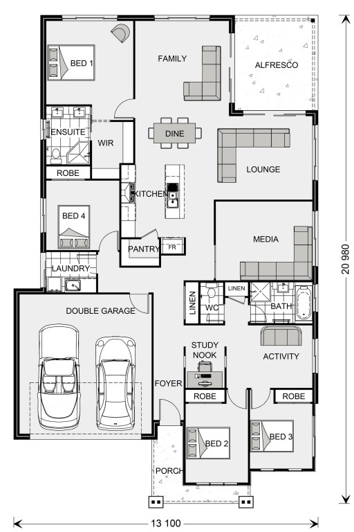 Iluka 230 Floorplan