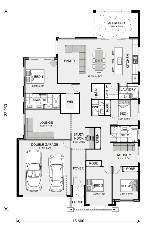 Newport 247 Floorplan