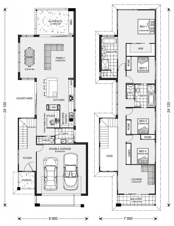 Nelson Bay 294 - Metro Series Floorplan