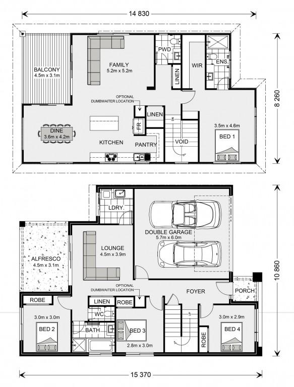 Sorrento 261 - Upper Floor Living Floorplan