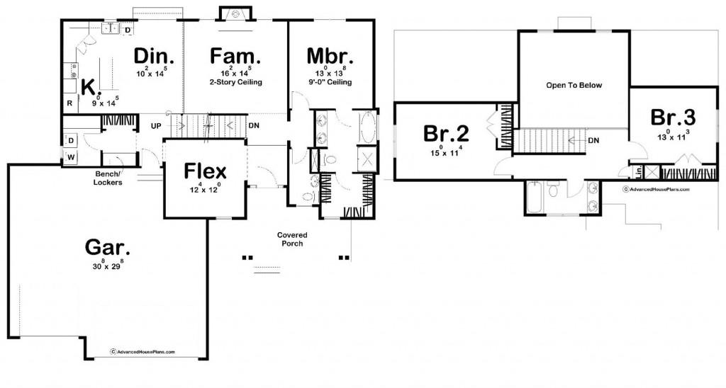 Hutchins 1947 Floorplan