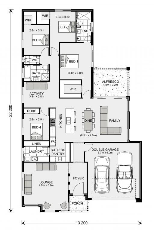 Elanora 240 Floorplan