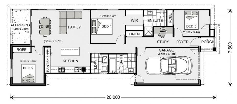 Seabrook 134 Floorplan