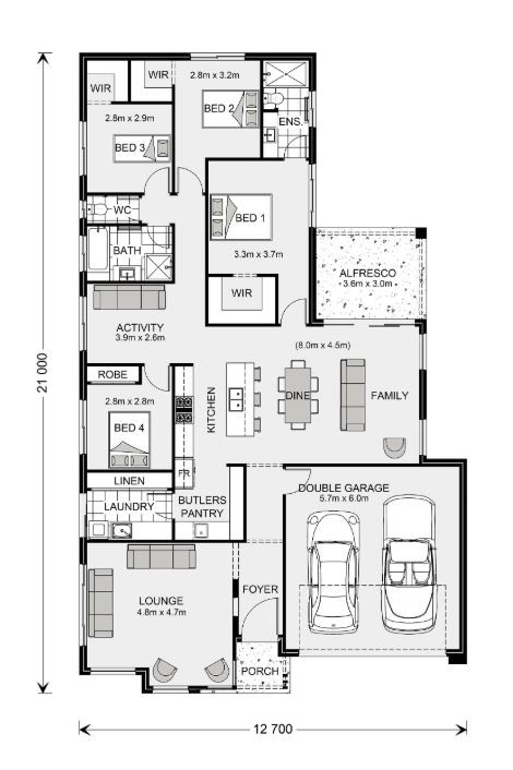 Elanora 220 Floorplan