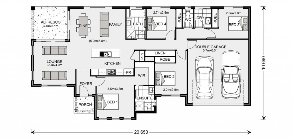 Rothbury Estate 192 Floorplan