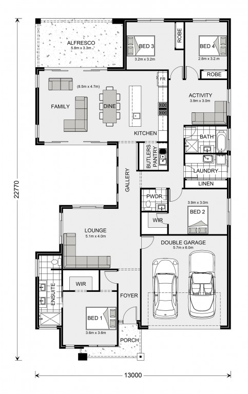 Beachmere 252 Floorplan