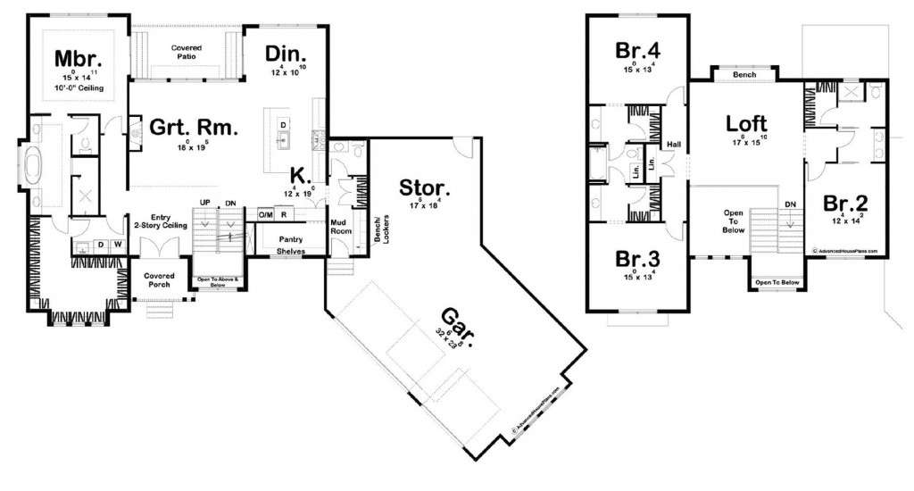 Savannah Falls 3292 Floorplan