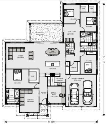 Wide Bay 262 Floorplan