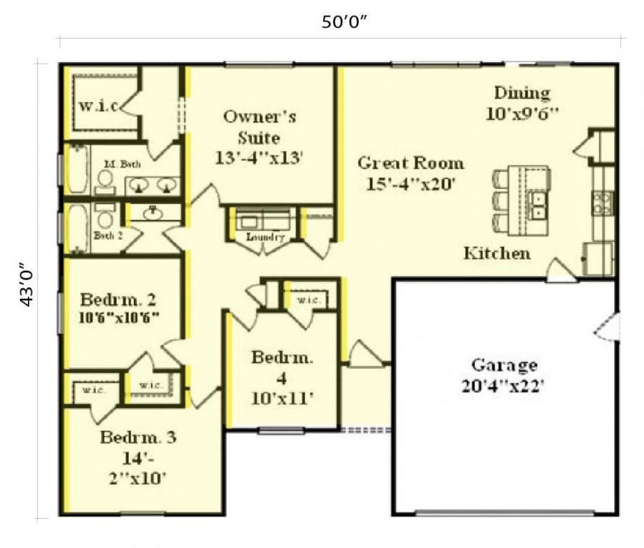 Express 1548 Floorplan