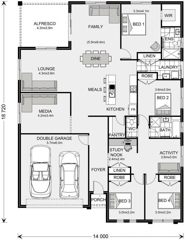 La Trobe 253 Floorplan