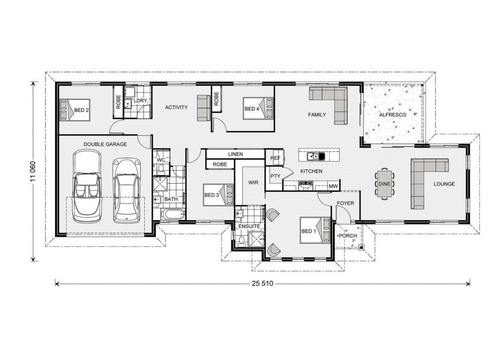 Rothbury Estate 234 Floorplan