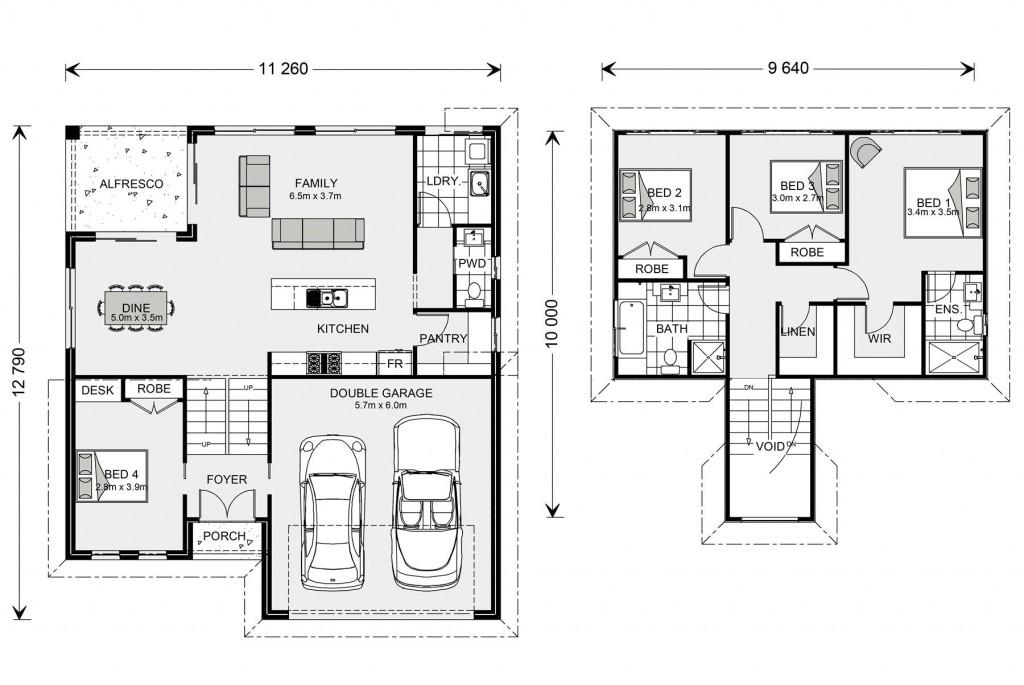 Legana SL 201 Floorplan