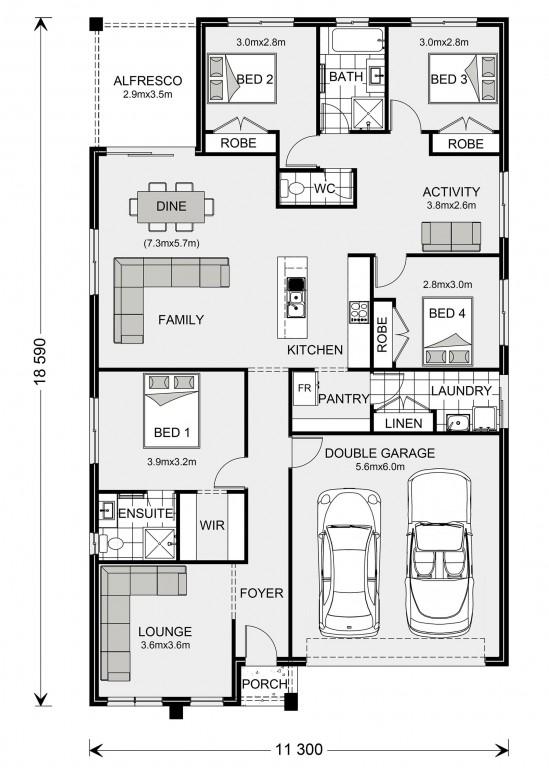 Brookfield 204 Floorplan