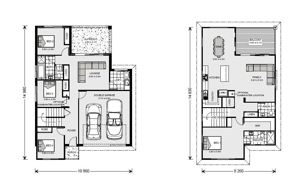 Sorrento Floorplan