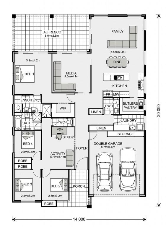 Hawkesbury Floorplan