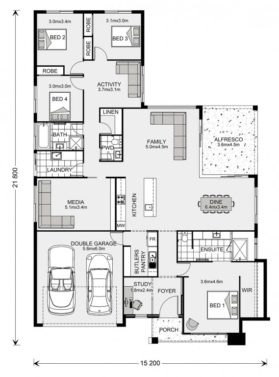 Coolum Floorplan