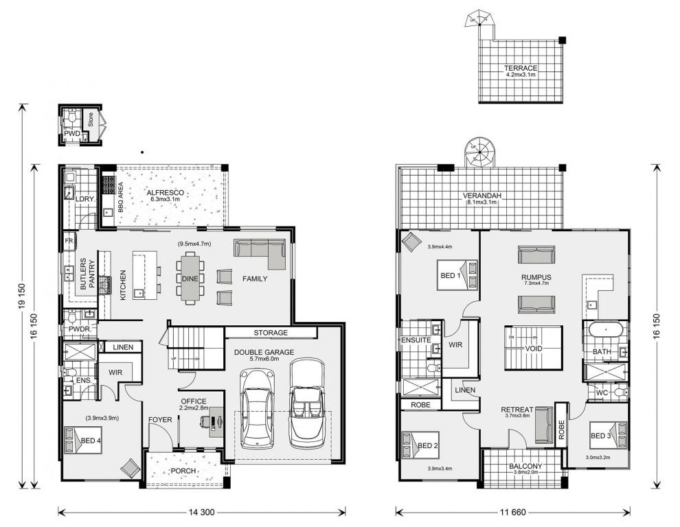 Esplanade 382 Floorplan