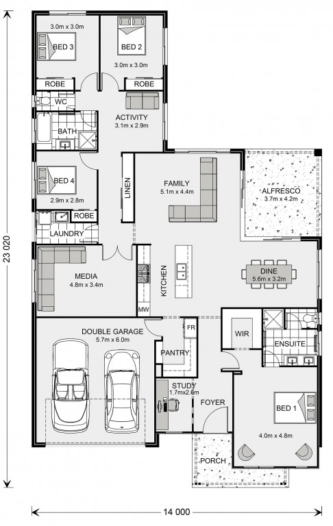 Coolum 255 Floorplan