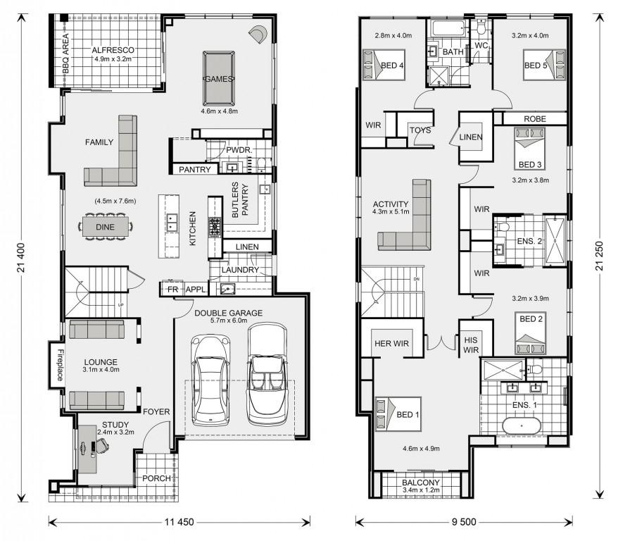 Elwood 393 Floorplan