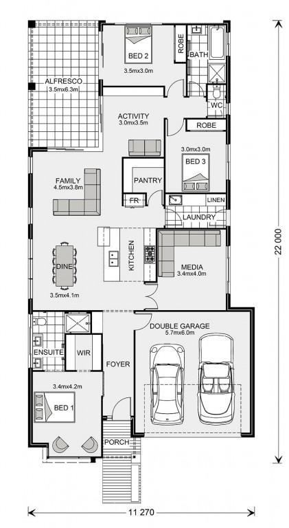 Benowa 221 Floorplan