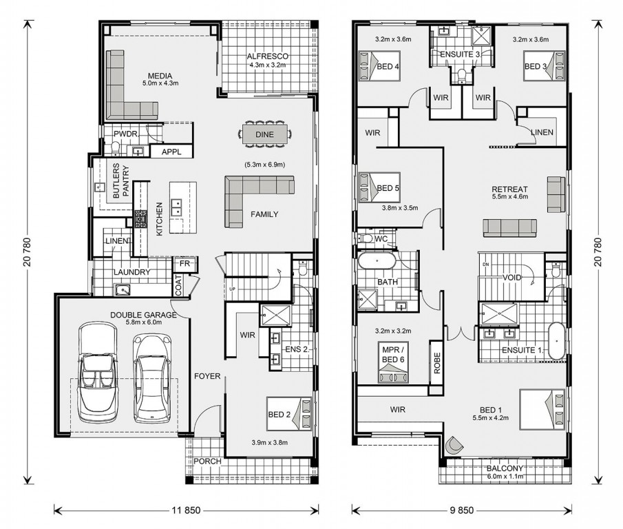 Balmain 407 Floorplan