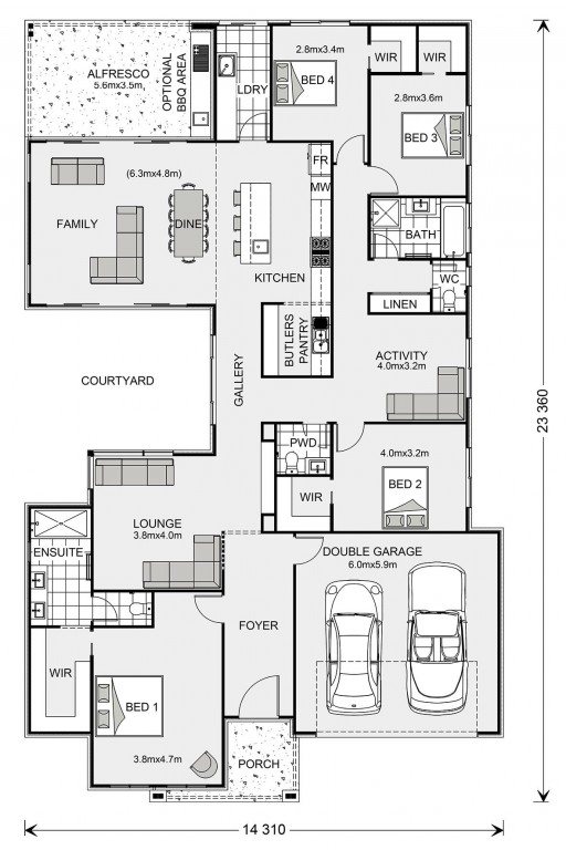 Beachmere Floorplan