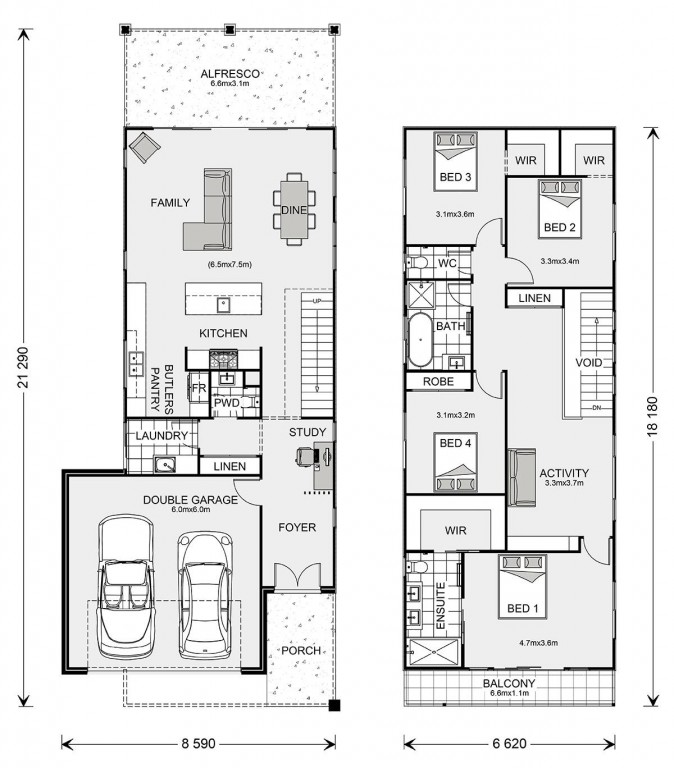 Pine Rivers Floorplan