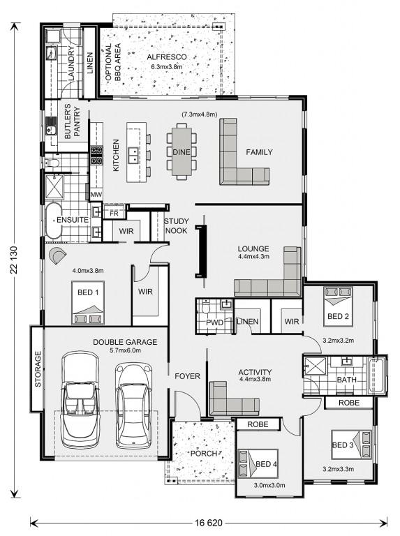 Peninsula 288 Floorplan