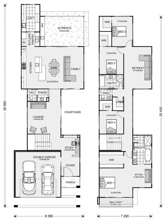 Nelson Bay Floorplan