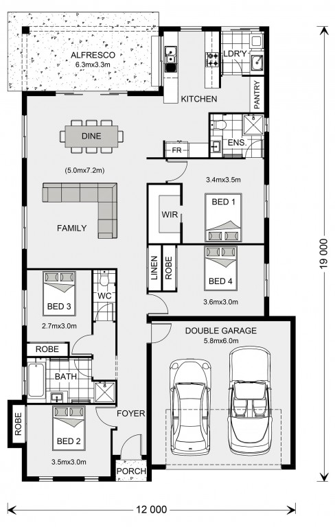 Seacrest Floorplan