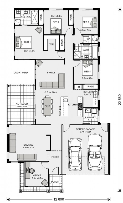 Northside Floorplan
