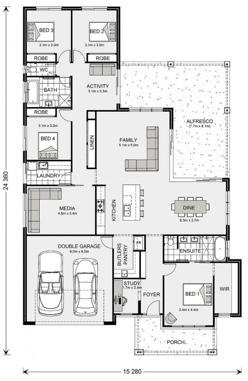 Coolum 306 Floorplan